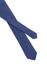 Calvin Klein - DOTTED SQUARE TIE - Cravatta - blue - 2