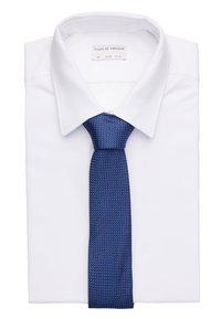 Calvin Klein - DOTTED SQUARE TIE - Cravatta - blue - 1