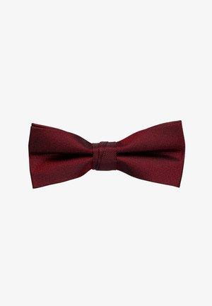 OXFORD SOLID BOW TIE - Pajarita - red