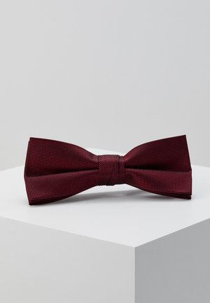 OXFORD SOLID BOW TIE - Motýlek - red