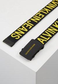 Calvin Klein Jeans - BELT - Pásek - black - 3