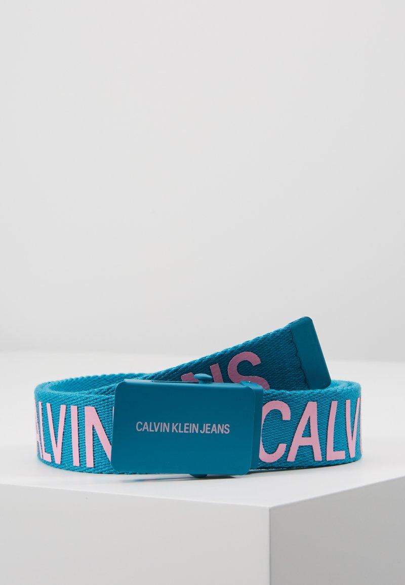 Calvin Klein Jeans - BELT - Gürtel - blue