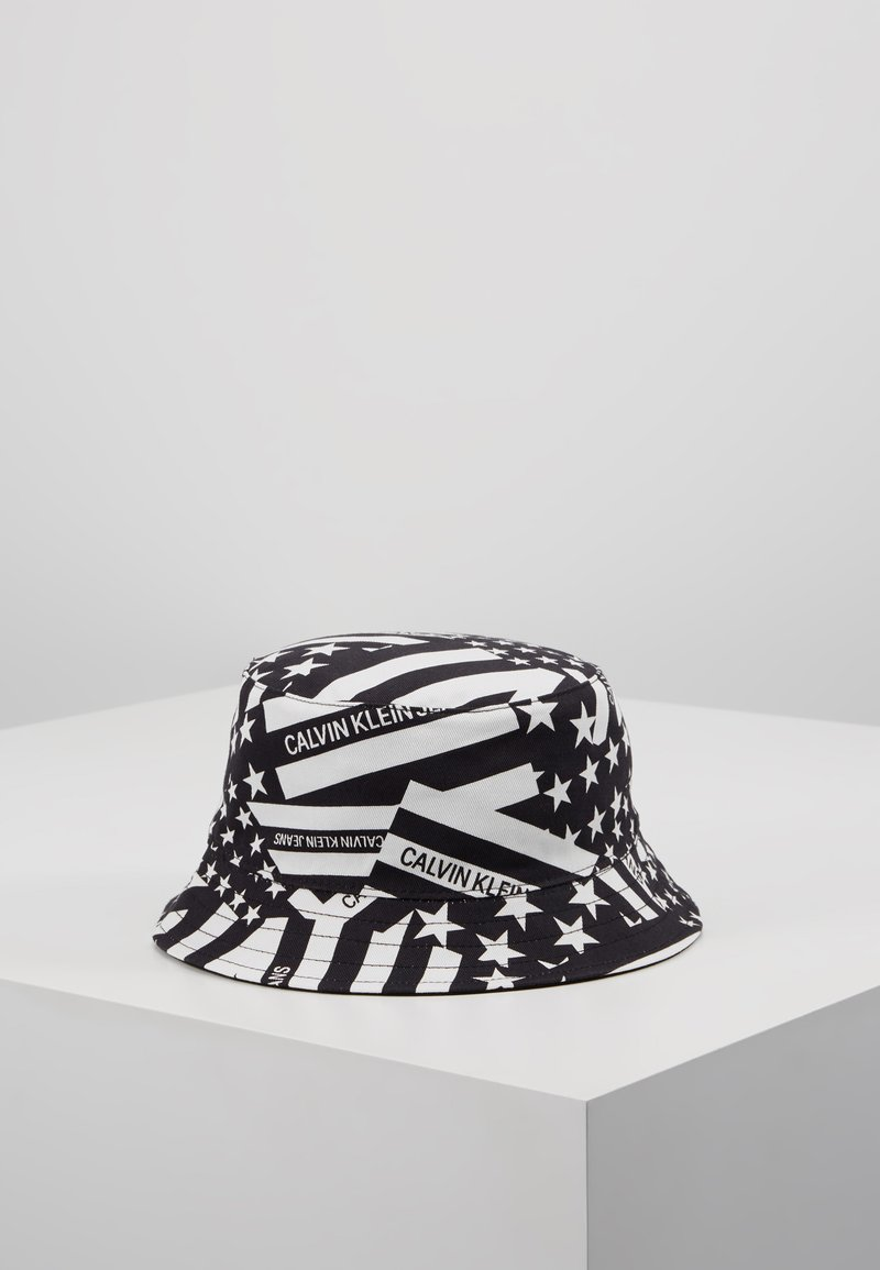 Calvin Klein Jeans - BUCKET HAT - Hut - black