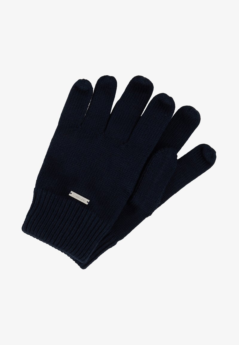 Calvin Klein - BASIC GLOVES - Rukavice - blue