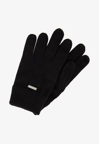 Calvin Klein - BASIC GLOVES - Gloves - black - 0
