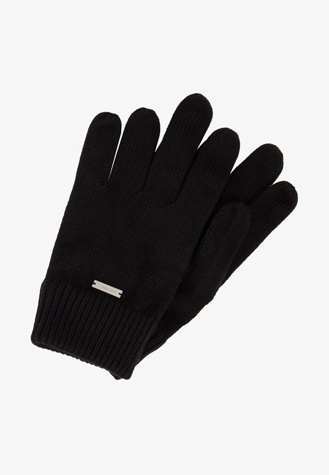 BASIC GLOVES - Fingervantar - black