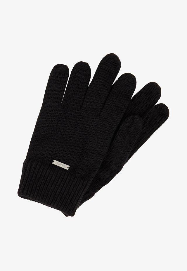 BASIC GLOVES - Handsker - black