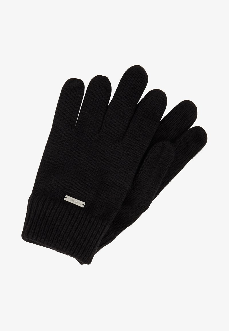 Calvin Klein - BASIC GLOVES - Gloves - black