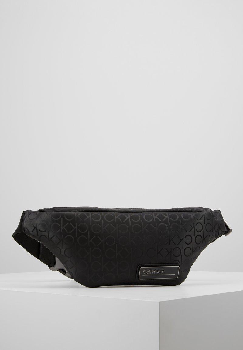 Calvin Klein - INDUSTRIAL MONO WAISTBAG - Marsupio - black
