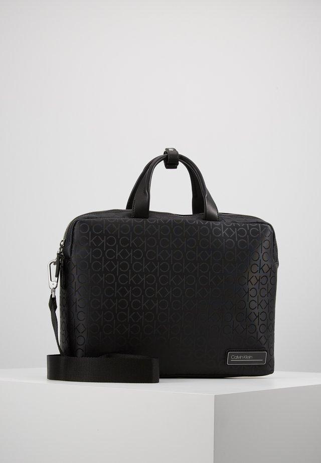INDUSTRIAL MONO SLIM LAPTOP BAG - Aktentasche - black