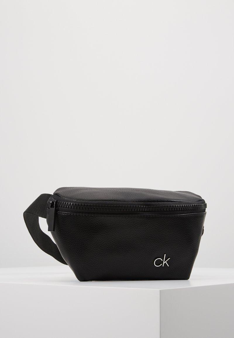 Calvin Klein - DIRECT WAISTBAG - Sac banane - black