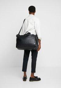 Calvin Klein - DIRECT WEEKENDER - Torba podróżna - black - 1