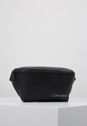 DIRECT WAISTBAG - Ledvinka - black