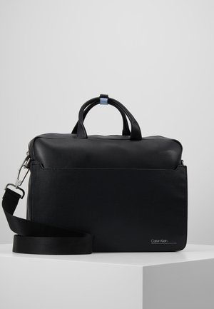 SLIVERED LAPTOP BAG - Laptoptas - black