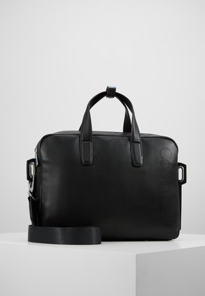 PUNCHED LAPTOP BAG - Taška na laptop - black