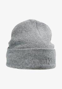 Calvin Klein - CASUAL BEANIE - Čepice - grey - 3