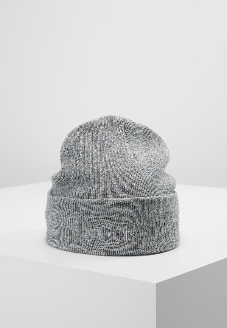 Calvin Klein - CASUAL BEANIE - Čepice - grey