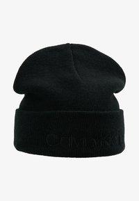 Calvin Klein - CASUAL BEANIE - Czapka - black - 4