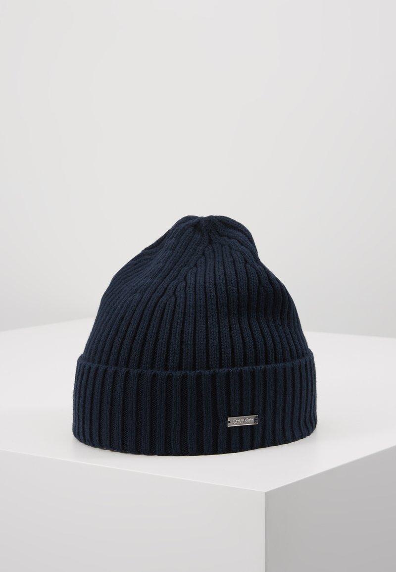 Calvin Klein - BASIC BEANIE - Gorro - blue