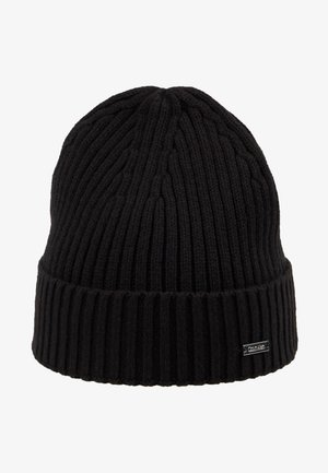 BASIC BEANIE - Bonnet - black