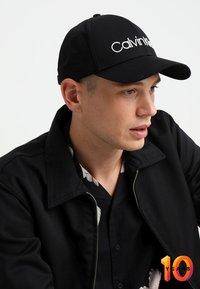 Calvin Klein - LOGO EMBROIDERY - Cap - black - 1