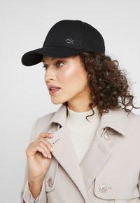 Calvin Klein - SIDE LOGO - Cap - black - 5