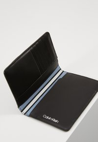 Calvin Klein - TRAVEL PASSPORT HOLDER - Other - black - 5