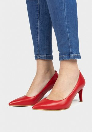 Klassieke pumps - rojo