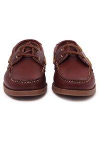 Castellanisimos - Chaussures bateau - brown - 3