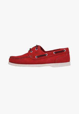 Chaussures bateau - red