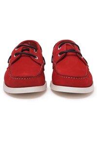 Son Castellanisimos - Chaussures bateau - red - 3