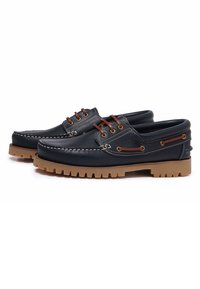 Castellanisimos - Chaussures bateau - blue - 3