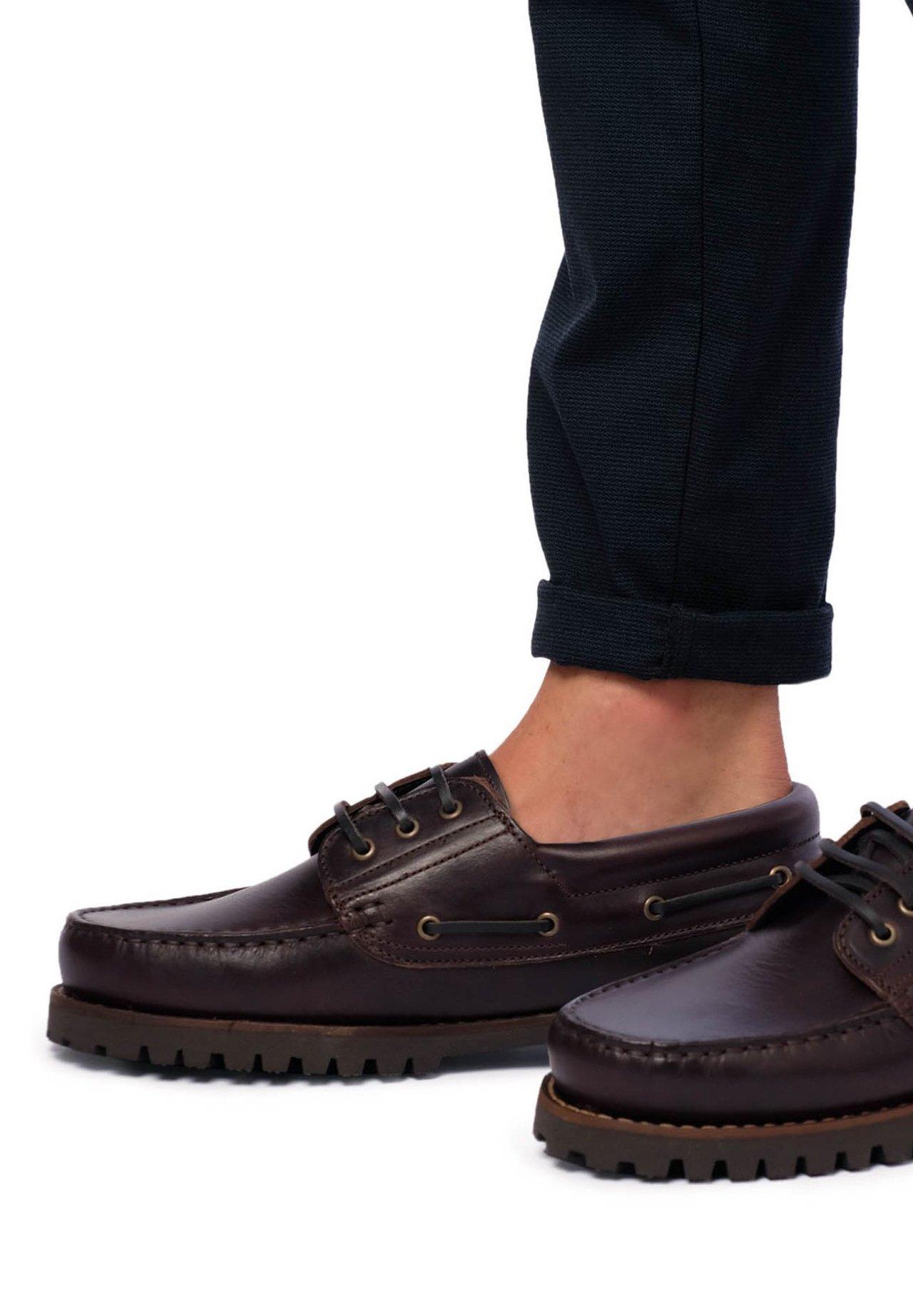 PULL&BEAR MIT JUTE SOHLE Chaussures bateau sand ZALANDO.FR
