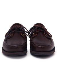 Son Castellanisimos - Chaussures bateau - brown - 3