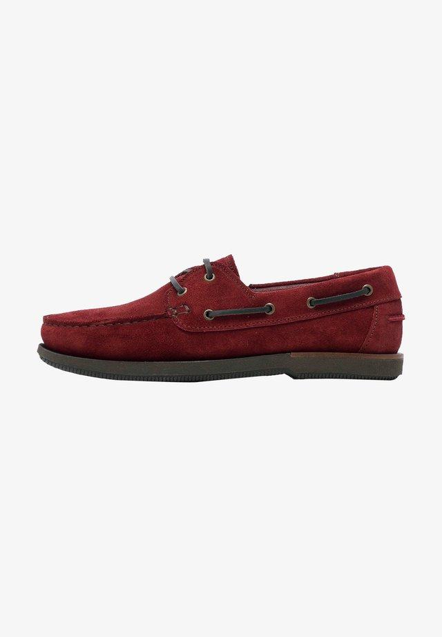 Bootschoenen - bordeaux