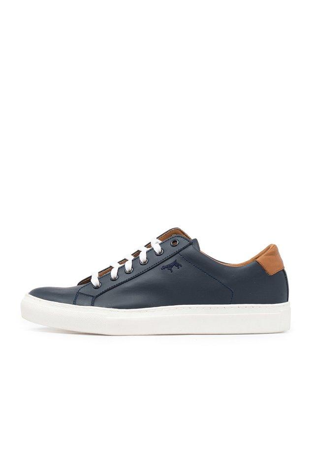BASKETS CUIR LACETS - Sneakers laag - 502