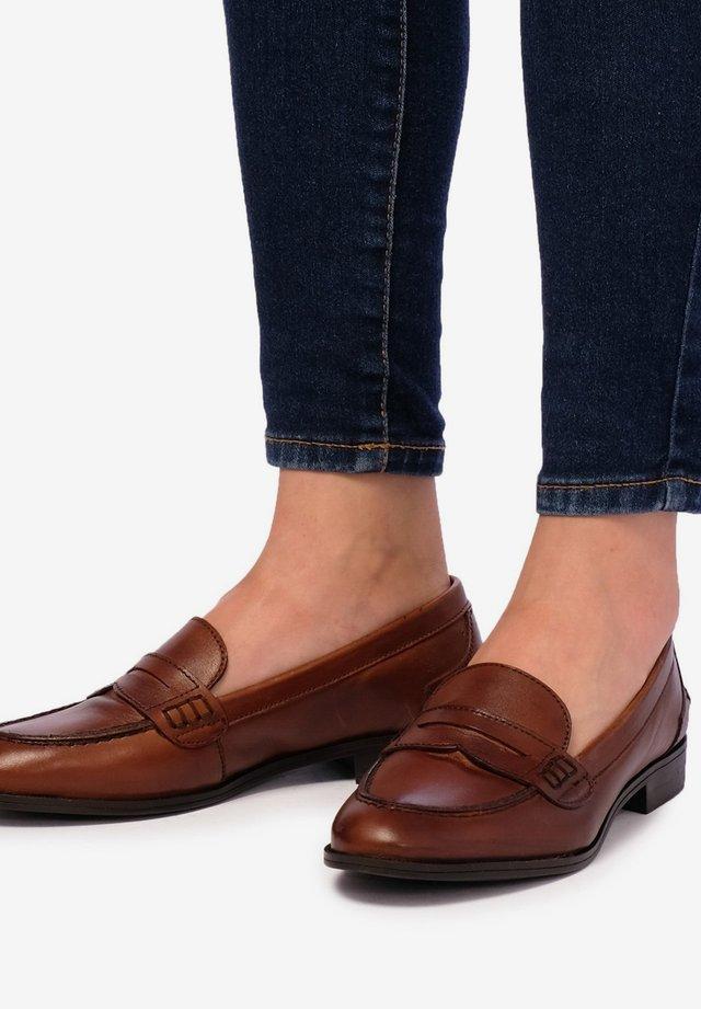 MASQUE - Slip-ons - brown