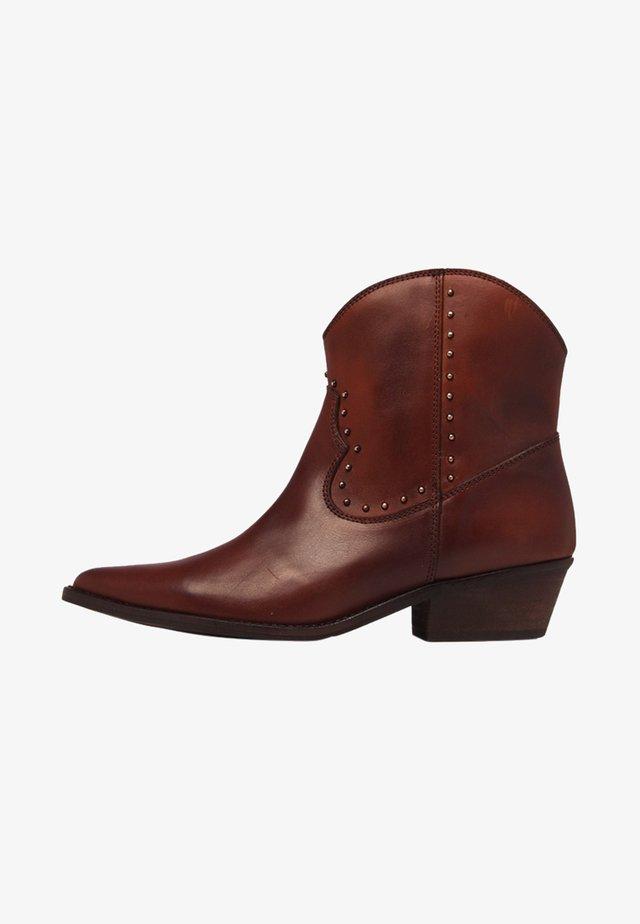 Cowboy/Biker boots - brown