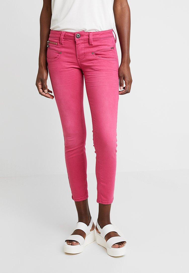 Freeman T. Porter - ALEXA CROPPED - Jeans Skinny Fit - raspberry sorbet