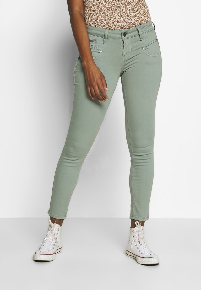 ALEXA CROPPED NEW MAGIC COLOR - Jeans Skinny - lead