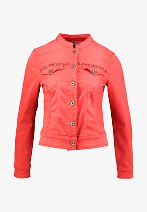 ISMERIE NEW MAGIC COLOR - Veste en jean - high risk red