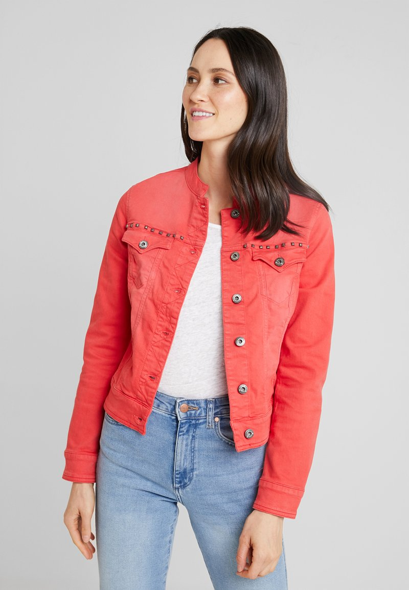Freeman T. Porter - ISMERIE NEW MAGIC COLOR - Veste en jean - high risk red