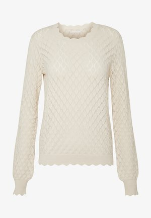 RONY POINTELLE - Strickpullover - birch