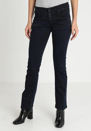 AMELIE - Jean slim - dark blue denim