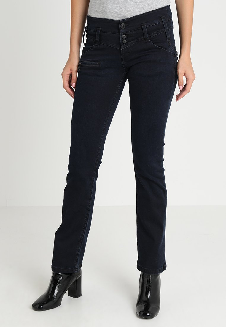 Freeman T. Porter - AMELIE - Jeans Slim Fit - dark blue denim
