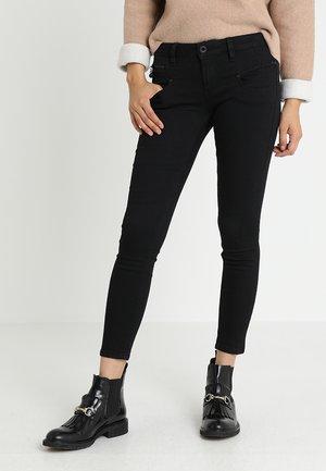 ALEXA CROPPED - Jeans Skinny - black