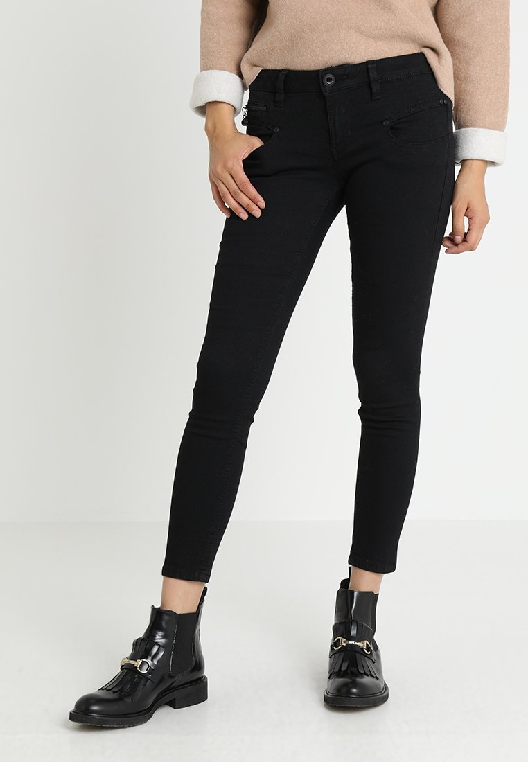 Freeman T. Porter - ALEXA CROPPED - Jeans Skinny Fit - black