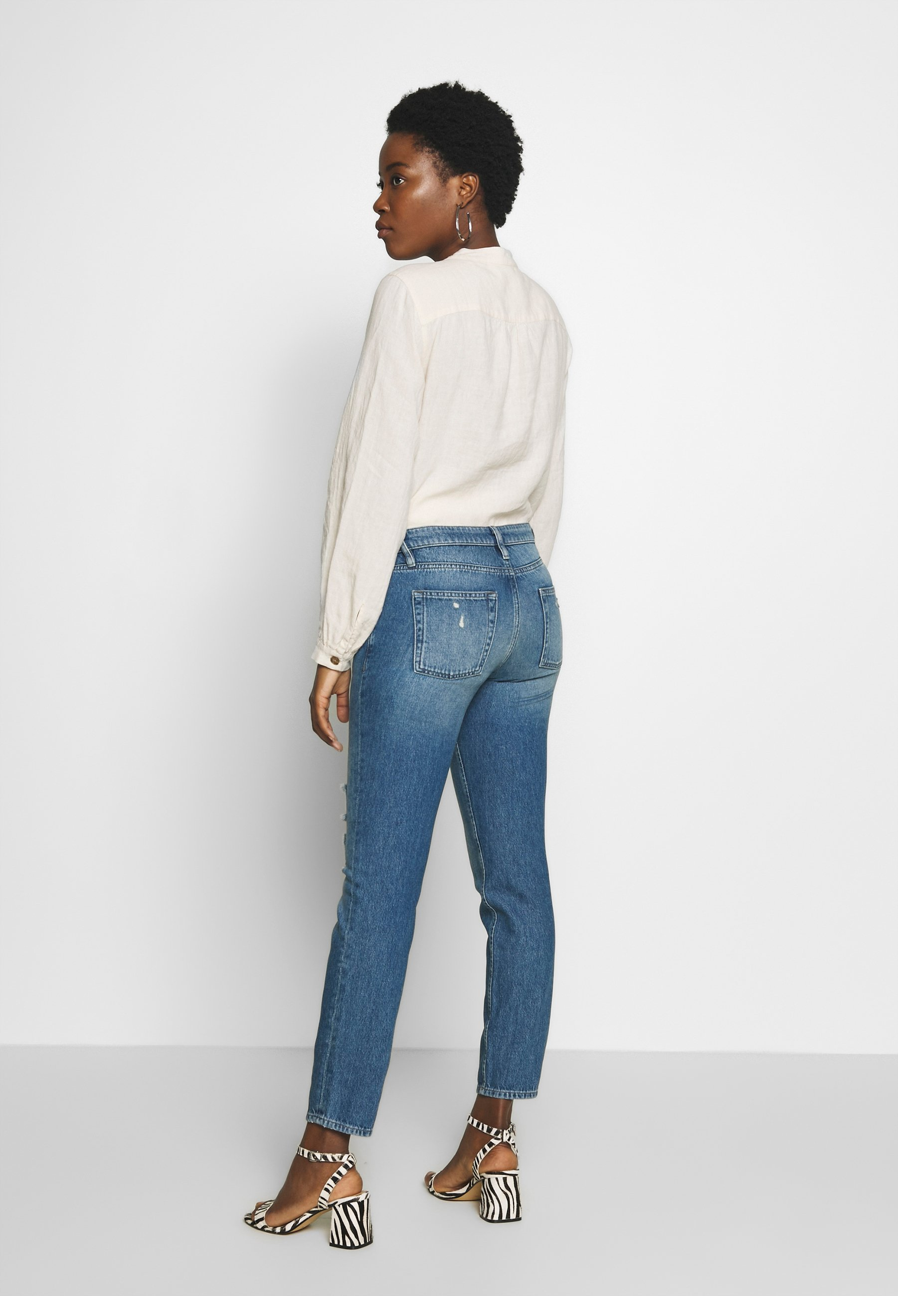 Freeman T. Porter SOLENN - Jeansy Relaxed Fit - clyde