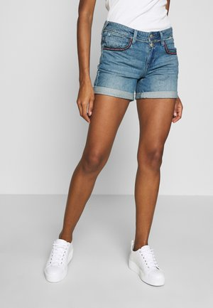 ROMIE - Denim shorts - blue denim
