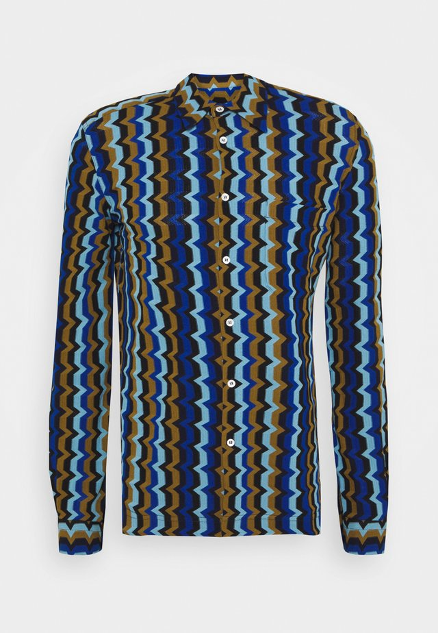 LONG SLEEVE - Camicia - blue